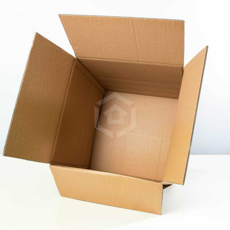 medium moving boxes overhead inside