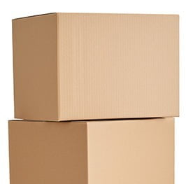 2 stacked removal boxes