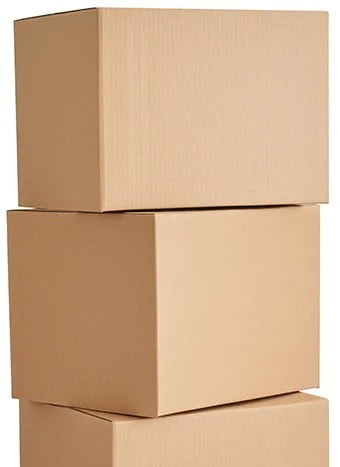 easy to stack removal boxes